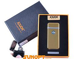"""USB зажигалка в подарочной упаковке """"Jouge"""" (Двухсторонняя спираль накаливания) №XT-4953-2"""