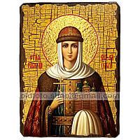 Икона Ольга Святая Княгиня (130х170мм)