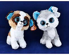 Мягкие игрушки Глазастый Зоопарк Щенок (25 см) №96027