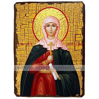 Икона Ариадна Святая мученица ,икона на дереве 130х170 мм