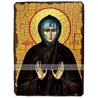 Икона Кира Святая Берийская ,икона на дереве 130х170 мм
