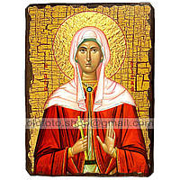 Икона Христина (Кристина) Святая Мученица ,икона на дереве 130х170 мм