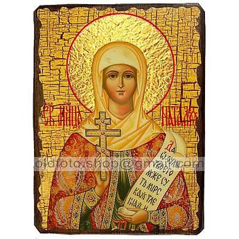 Икона Наталия (Наталья) Святая Мученица ,икона на дереве 130х170 мм