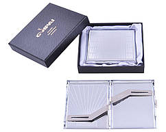 Портсигар классический на 20 сигарет в подарочной коробке №4375-14