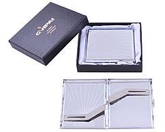 Портсигар классический на 20 сигарет в подарочной коробке №4375-15