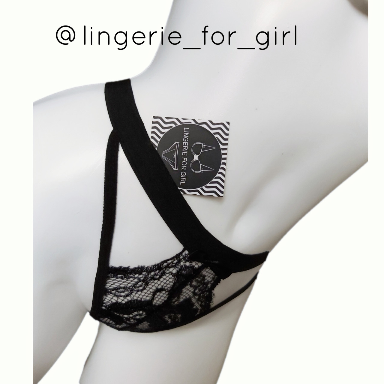 Кружевной женский комплект эротического нижнего белья Ruby Black - фото 8