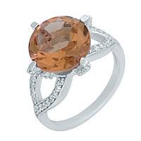 Серебряное кольцо  с Султанит султанитом , фото 1