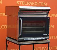 Печь пароконвекционная «Unox XF 119-HB Stefania» + зонт вытяжной «Unox XC 535», (Италия) + подставка, Б/у