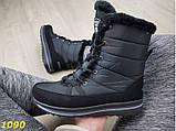 Дутики сапоги зимние на шнуровке очень теплые 36, 37 р. (1090), фото 3