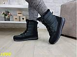 Дутики сапоги зимние на шнуровке очень теплые 36, 37 р. (1090), фото 5
