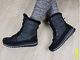 Дутики сапоги зимние на шнуровке очень теплые 36, 37 р. (1090), фото 4