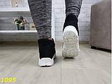 Дутики ботинки зимние на густом меху черные 36, 38, 39 (1095), фото 6
