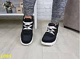 Дутики ботинки зимние на густом меху черные 36, 38, 39 (1095), фото 5