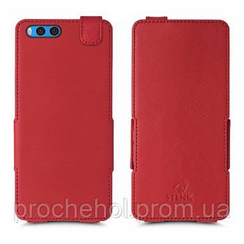 Чехол флип Stenk Prime для Xiaomi Mi Note 3 Красный