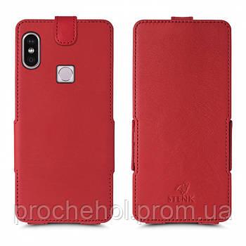 Чехол флип Stenk Prime для Xiaomi Redmi Note 5 Pro Красный