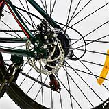 Спортивный велосипед 26 дюймов K-Rally рама алюминий 17 Blue-Red, фото 4