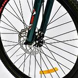 Спортивный велосипед 26 дюймов K-Rally рама алюминий 17 Blue-Red, фото 5
