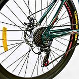 Спортивный велосипед 26 дюймов K-Rally рама алюминий 17 Blue-Red, фото 6