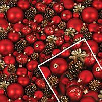 Новогодняя подарочная упаковочная бумага №УП-512