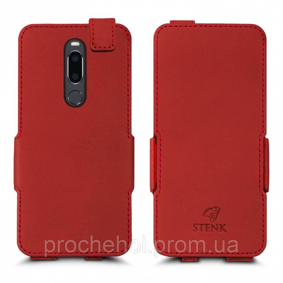Чехол флип Stenk Prime для Meizu M8 Красный (62742)