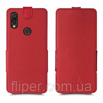 Чехол флип Stenk Prime для Xiaomi Redmi 7 Красный