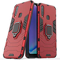 Чехол Ring Armor для Vivo Y17 Red