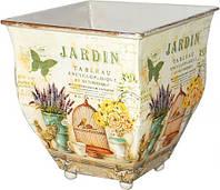 Кашпо для цветов лаванды  декоративное