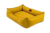 Лежак для собак Harley and Cho Dreamer Mustard 3010080, 120*80 см
