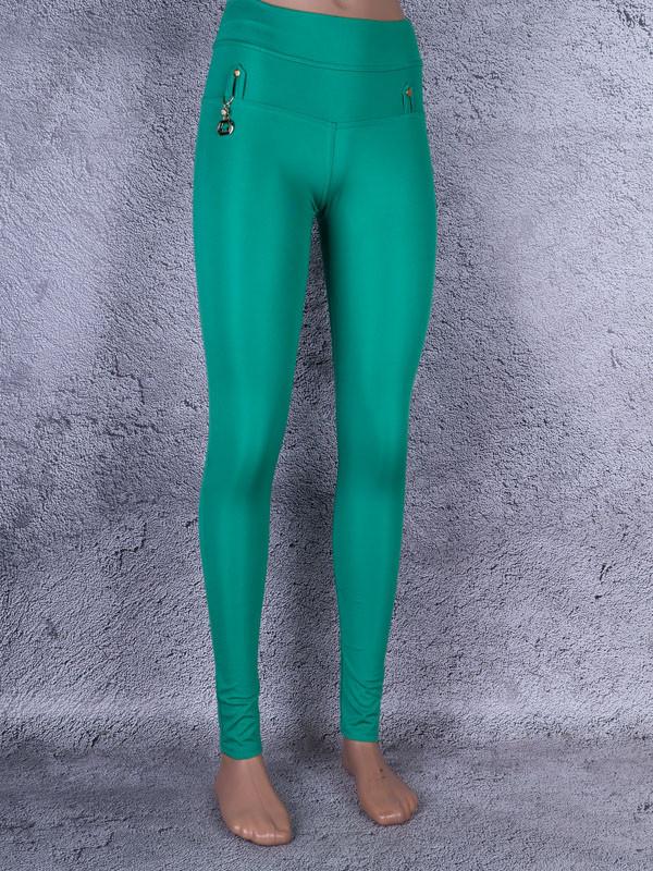 Лосини, Легінси жіночі з брелоком (зелений)