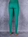 Лосини, Легінси жіночі з брелоком (зелений), фото 2