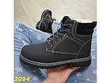 Зимние ботинки тимбер черные классические 36 (2024), фото 4