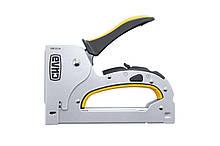 Степлер строительный скоба 6-14 мм x гвоздь 14 мм СИЛА | 680204
