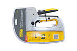 Степлер строительный скоба 6-14 мм x гвоздь 14 мм PRO СИЛА | 680206, фото 2
