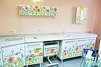 Гарнітур для медичного кабінету №107 Дитячий малюнок олівцем Медапаратура