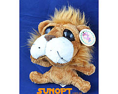 Мягкая игрушка Лев глазастый (130 мм) №1518-33