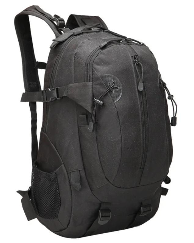 Рюкзак тактический, штурмовой, городской на 35-40 литров Tactic Чёрный и зеленый