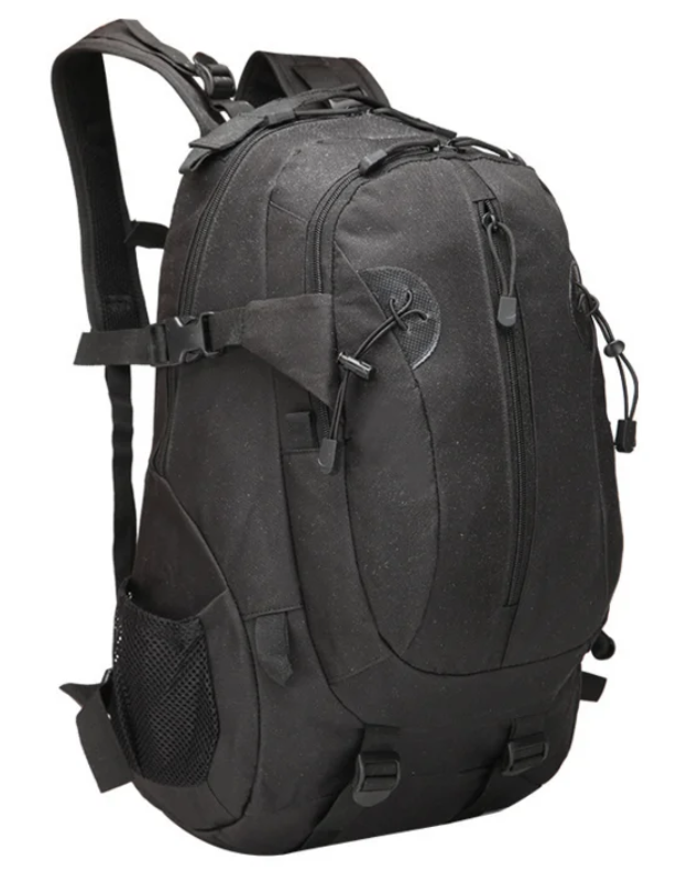 Рюкзак тактичний, штурмової, міський на 35-40 літрів Tactic Чорний і зелений