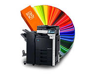 Цифровая печать А3 двухсторонняя печать 4+4 (350г/м.кв. мелованная бумага)