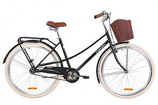"""Велосипед 28"""" Dorozhnik COMFORT FEMALE 2020 (черный (м))"""