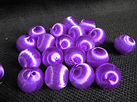 Шарики шелковые, (1,7 см, 10 шт) (12\10) (цена за 1 шт. + 2 грн.)