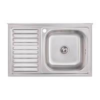 Кухонная мойка Imperial 5080-R Satin (IMP5080RSAT), фото 1