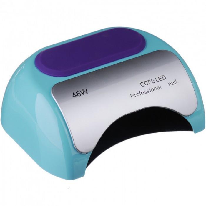 УФ лампа для ногтей Beauty nail 18K CCFL LED 48W сушилка сенсор Бирюзовый