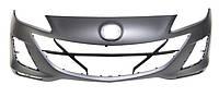 Бампер передний для Mazda 3 (BL) (седан, хэтчбек) 2009 - 2013, грунтованый, OE BCW850031JBB (FPS Тайвань) OE BCW850031JBB