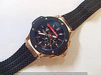 Механические часы Hublot Geneve Big Bang King Luna Rossa черные с бронзой, календарь
