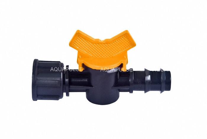 Кран стартовий 20 мм на 3/4 з внутрішньою різьбою Aquapulse