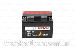 Мото аккумулятор BOSCH M6  Левый [+] 12V 9AH 200A 150x88x110 Bosch 0092M60120 ( TTZ12S-BS / YTZ12S /YTZ14-BS)