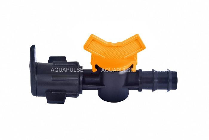 "Кран под рукав ""Layflat"" трубки 16 мм Aquapulse"