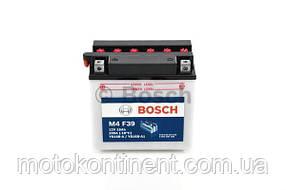 Мото аккумулятор BOSCH 16AH 200A 160x90x161 M4 ЛЕВ [+] 12V Bosch 0092M4F390 ( YB16B-A1)