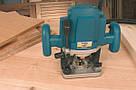 Ручной фрезер Virutex FRE160P по дереву и ДСП 1,8 кВт с регулируемой частотой вращения, фото 4