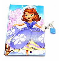 Блокнот с замком для девочек (2 ключа)